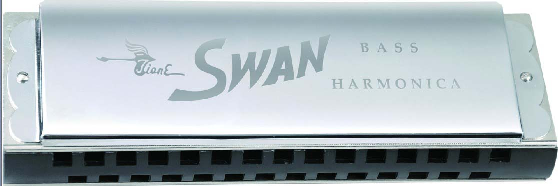 Swan Senior Bass Harmonica (Gift Box)