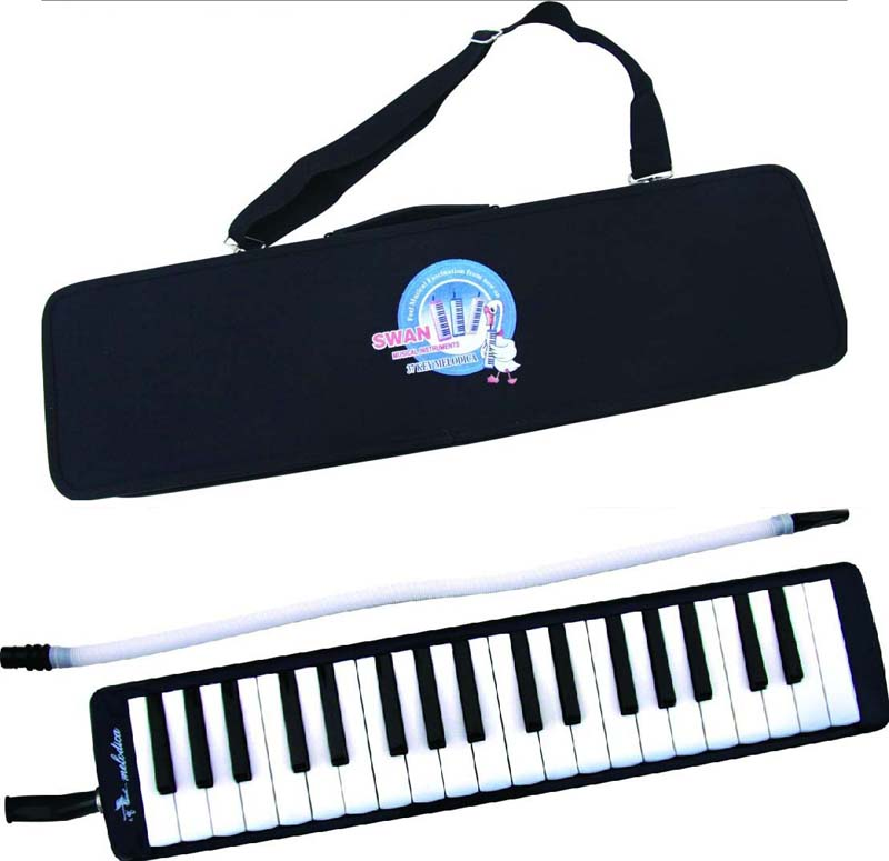 SWAN 37 key melodica - Black