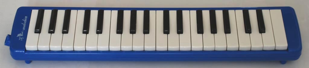 SWAN 37 key melodica - Blue